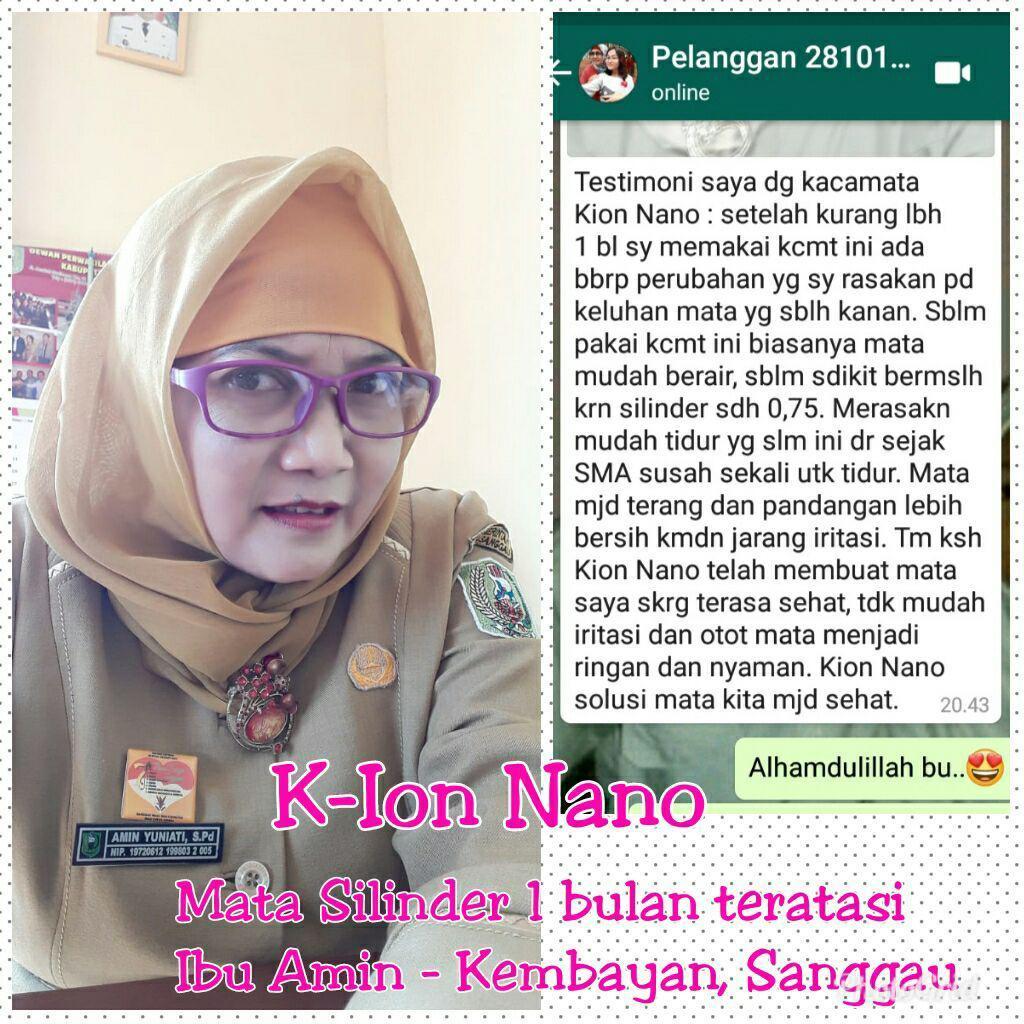 testimoni kacamata k-ion nano16